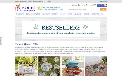 Personalized Home & Garden Gifts at Personal Creations