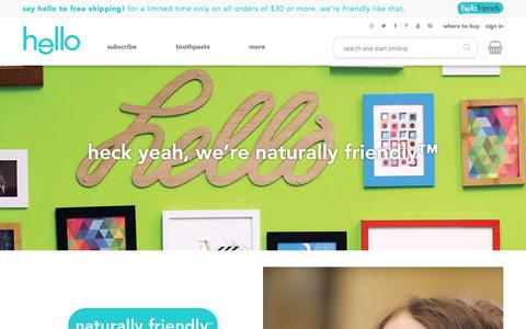 Screenshot of About Page hello-products.com - About Hello Products | Hello Products - captured Sept. 28, 2018
