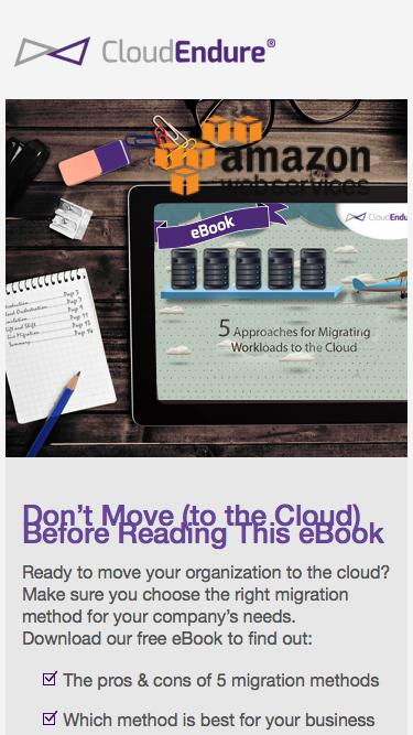 5 Cloud Migration Approaches eBook