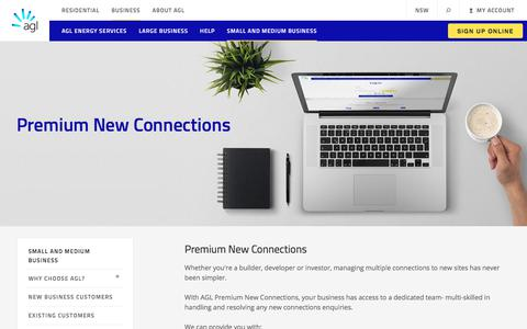 Premium New Connections | AGL