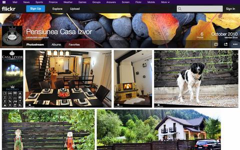 Screenshot of Flickr Page flickr.com - Flickr: pensiunea-casa-izvor's Photostream - captured Oct. 22, 2014