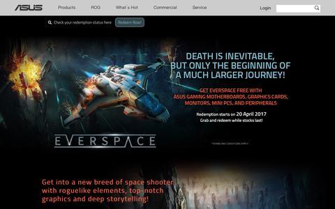 ASUS EVERSPACE Game Bundle Promotion – ASUS USA
