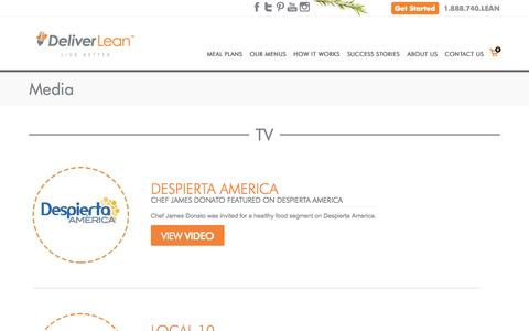 Screenshot of Press Page deliverlean.com - Deliver Lean | Media | In The News - captured Oct. 29, 2014