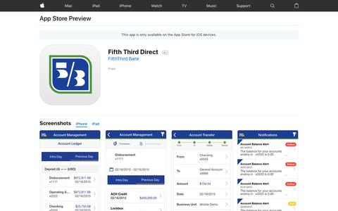 Fifth Third Direct on the App Store