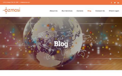Screenshot of Blog ozmosi.com - The OZMOSI Blog - captured Sept. 20, 2018