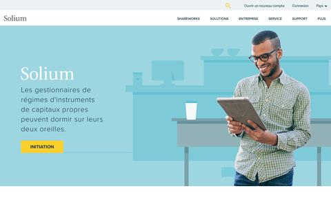 Solium | Equity Plan Management Software