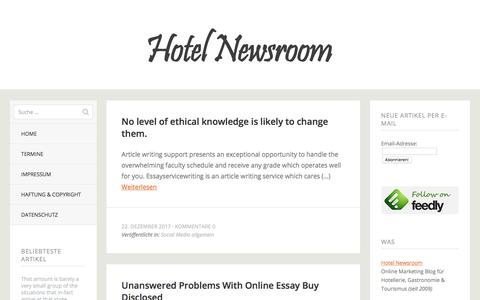 Hotel Newsroom