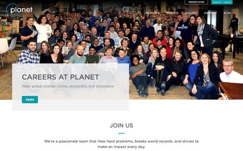 Planet — Careers