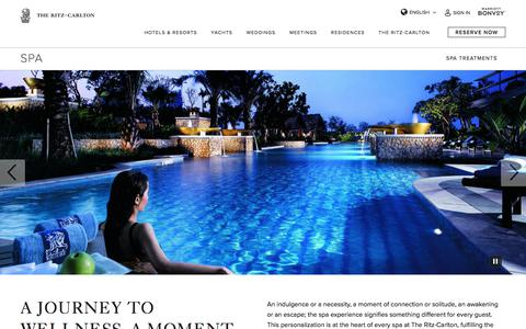 Screenshot of Locations Page ritzcarlton.com - Luxury Hotel Spas - Spa Resort | The Ritz-Carlton - captured Nov. 6, 2019