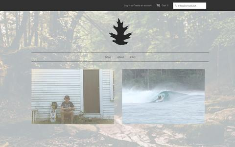 Screenshot of Team Page brushwoodusa.com - Sponsors - Brushwood | Wooden Eyewear | Crafted for the Outdoors - captured Oct. 5, 2014