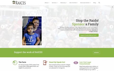 RAICES (Refugee and Immigrant Center for Education and Legal Services)