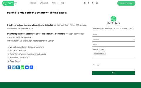 Screenshot of FAQ Page carepy.com - FAQ - Carepy - captured May 11, 2017
