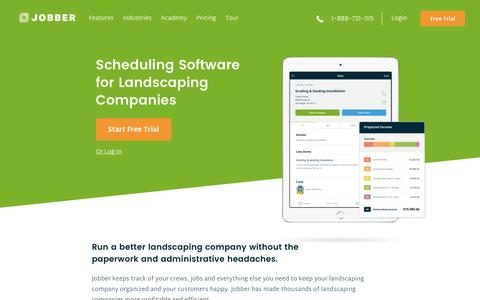 Landscape Scheduling & Management Software | Jobber