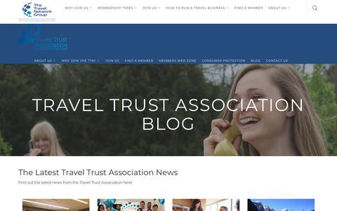 Screenshot of Blog thetravelnetworkgroup.co.uk - TTA Blog | TheTravel Network Group - captured Oct. 15, 2018