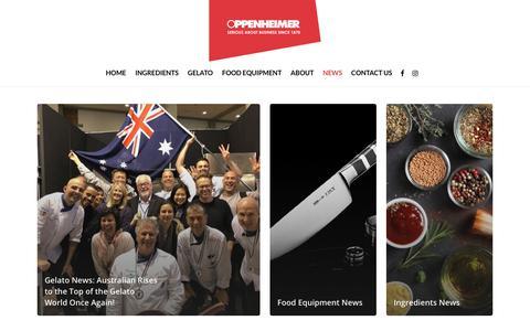 Screenshot of Press Page oppenheimer.com.au - News – Oppenheimer - captured Oct. 18, 2018