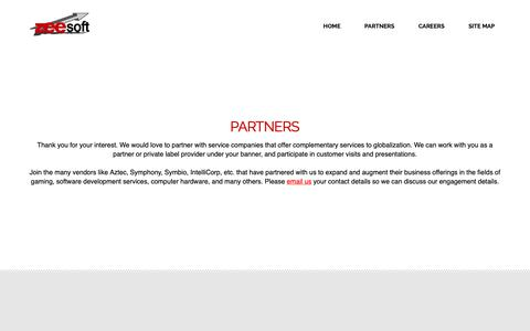 Screenshot of Jobs Page Site Map Page zeesoft.com - Zeesoft - captured Oct. 18, 2018