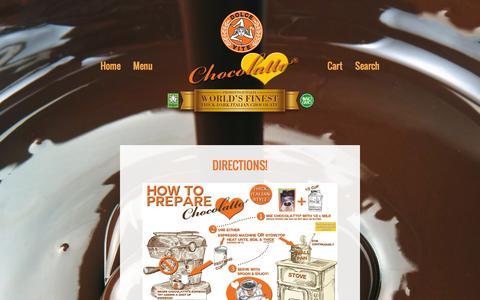Screenshot of Maps & Directions Page dolceviteforeveryoung.com - DIRECTIONS! – Dolce Vite Chocolatto World's Best Thick Dark Italian Hot Chocolate! No GMOs! - captured Oct. 5, 2014