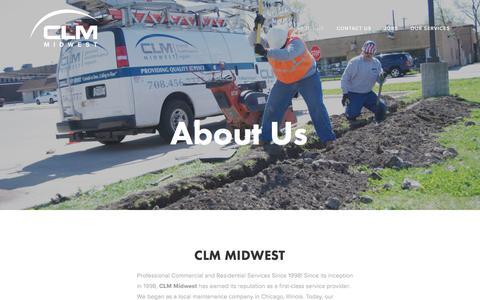 Screenshot of About Page clmmidwest.com - About Us — CLM Midwest - captured May 12, 2017