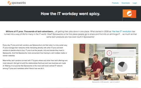 The Spiceworks Story – How We're Creating the World's Most Trusted Marketplace - Spiceworks