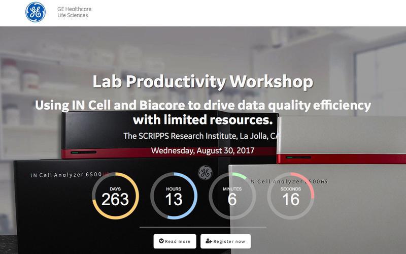 Register now - SCRIPPS Lab productivity workshop