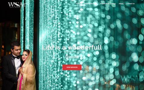 Screenshot of Home Page wssa.co - WSSA Co. - captured Nov. 30, 2016