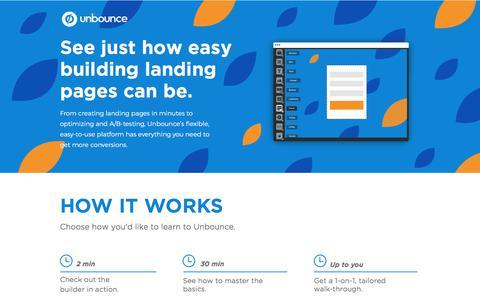 Landing Page Builder Demo - Get More Conversions