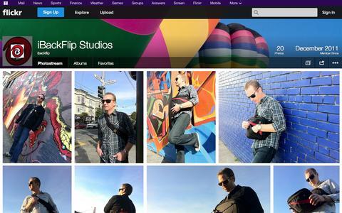 Screenshot of Flickr Page flickr.com - Flickr: ibackflip's Photostream - captured Oct. 23, 2014