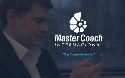 Screenshot of Home Page mastercoach.mx - Curso de Coaching | México | Master Coach Internacional - captured Oct. 17, 2018