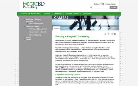 Screenshot of Jobs Page faegrebdc.com - Working at FaegreBD Consulting - FaegreBD Consulting - captured Oct. 18, 2016