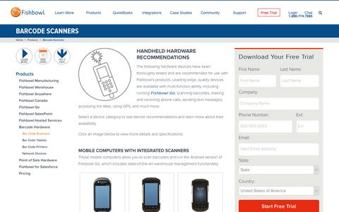 Barcode Scanners | Fishbowl