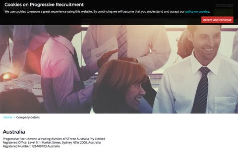 progressiverecruitment.com | Company details