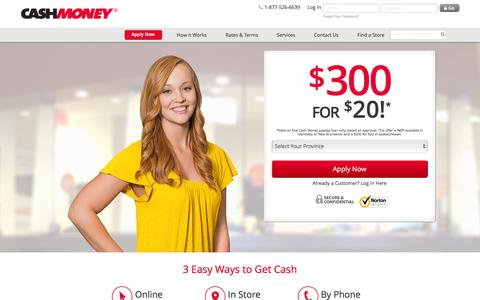 Payday Loans - Cash Money