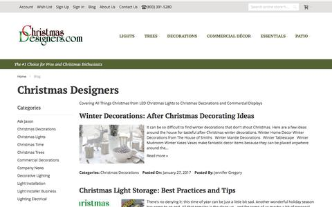 Screenshot of Blog christmasdesigners.com - Christmas Designers | Christmas Designers - captured Sept. 14, 2017