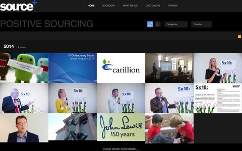 Screenshot of Home Page source.co.uk - Source - Welcome to Source - captured Oct. 6, 2014