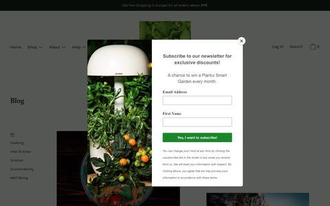 Screenshot of Blog plantui.com - Blog                      – Plantui - captured March 1, 2019