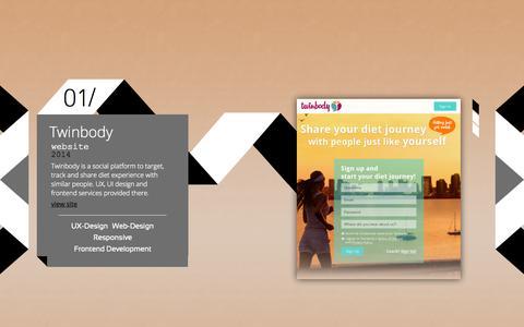 Screenshot of Home Page ui-arts.com - UI Arts - captured Sept. 30, 2014
