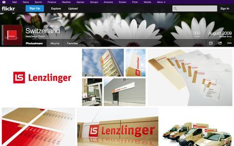 Screenshot of Flickr Page flickr.com - Flickr: MetaDesign Zurich's Photostream - captured Oct. 26, 2014