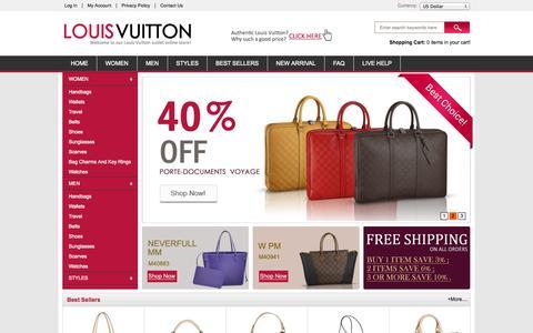 Screenshot of Press Page lavishskate.com - Louis Vuitton Outlet-Louis Vuitton Handbags Online Shopping In Authentic Louis Vuitton Official Website - captured Oct. 2, 2014