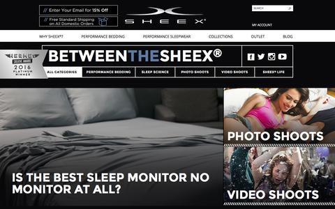 SHEEX® Performance Bedding & Sleepwear SHEEX® Performance Bedding & Sleepwear -     -