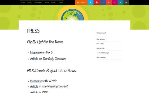 Screenshot of Press Page onecommonunity.org - Press - One Common Unity - One Common Unity - captured Oct. 26, 2014