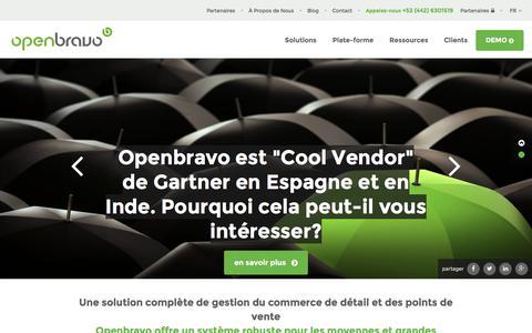 Openbravo, les suites préférées pour le Commerce et l\'Entreprise