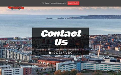 Screenshot of Contact Page keepdrivingauto.co.uk - Contact Keep Driving Auto Ltd. Your local garage in Swansea - captured Oct. 15, 2018