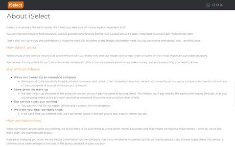 iSelect - Popup - How iSelect works