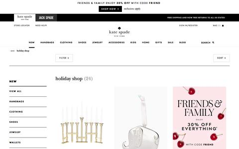Holiday, Christmas & Hanukkah Décor and Gifts | Kate Spade New York