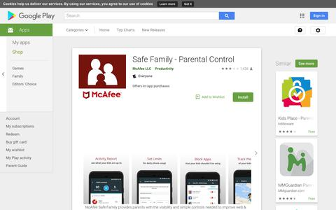 Safe Family - Parental Control - Apps on Google Play