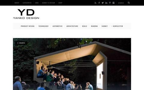 Screenshot of Home Page yankodesign.com - Yanko Design | Modern Industrial Design News - captured Jan. 17, 2020