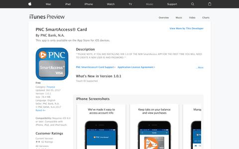 PNC SmartAccess® Card on the App Store