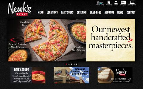 Screenshot of Home Page newks.com captured Feb. 19, 2016
