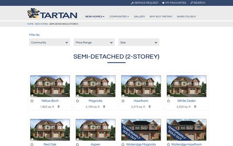 Semi-Detached (2-storey) Archives | Tartan Homes