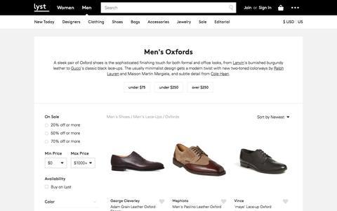 Oxford Shoes | Shop Men's Oxford Shoes | Lyst